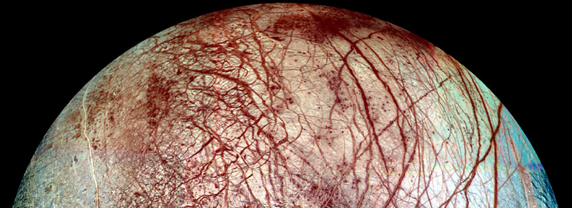 Europa, a moon of Jupiter