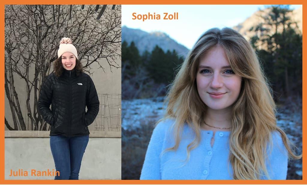 Julia Rankin and Sophia Zoll