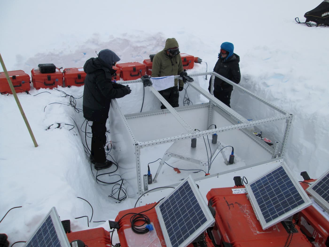 SIIOS instrument in Greenland