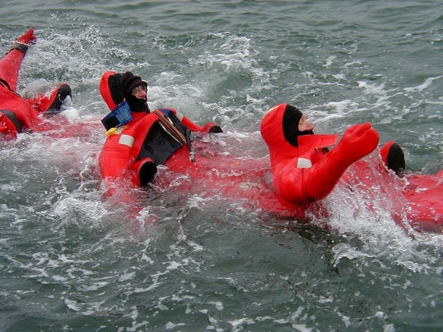 Heading for Life Raft