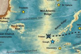 South Atlantic map